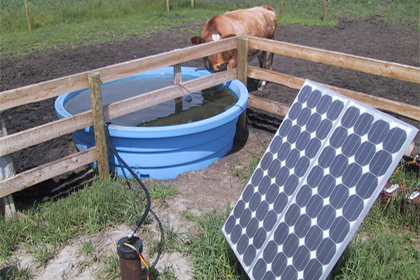 SOLAR POWERED WATER PUMPS
