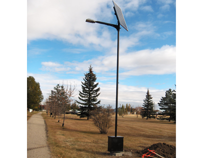 LED Solar Light Installation