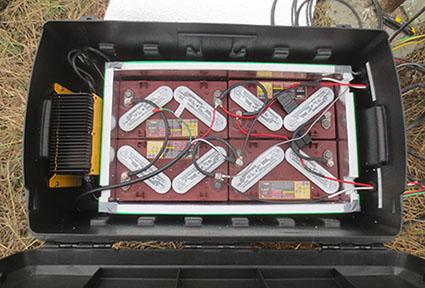 satellite tank monitoring