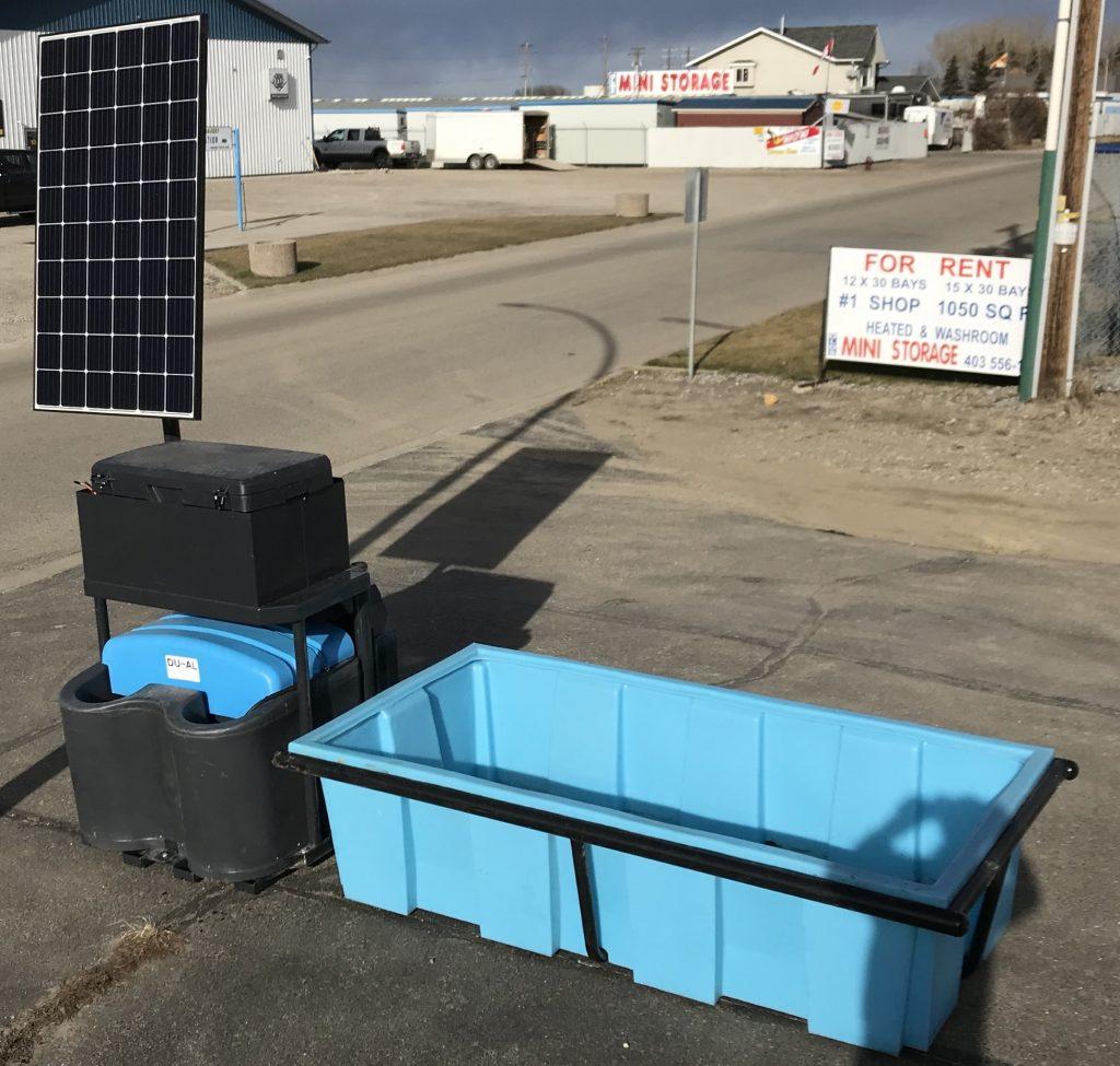 DU~AL with additional 400 gallon trough